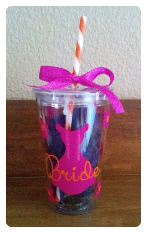 Bridal tumbler jar