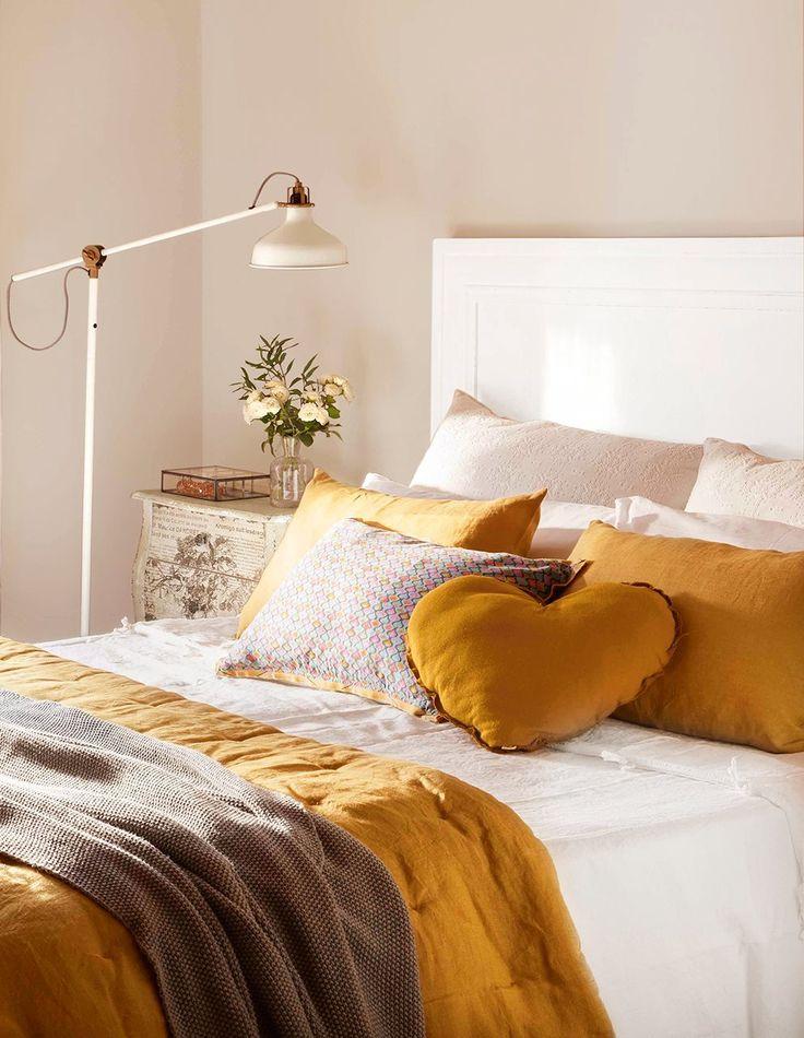 Mejores 351 im genes de dormitorios en pinterest ideas para dormitorios decoraciones del - Cojines para dormitorio ...