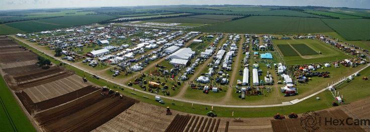 Panorama from our hexacopter of the Cereals Show 2014.
