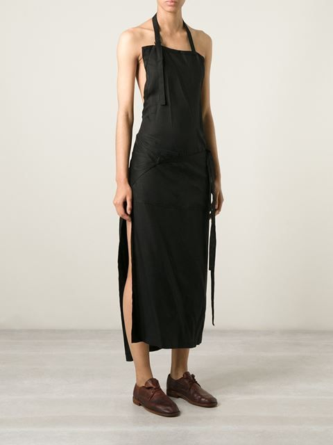 Yohji Yamamoto Apron Dress - Hostem - Farfetch.com                                                                                                                                                                                 More