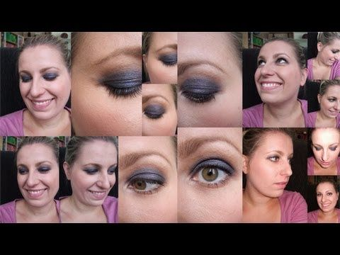 "Get ready with me No. 3 - blue smokey eyes und ""Live Test"" Maybelline BB Creme"