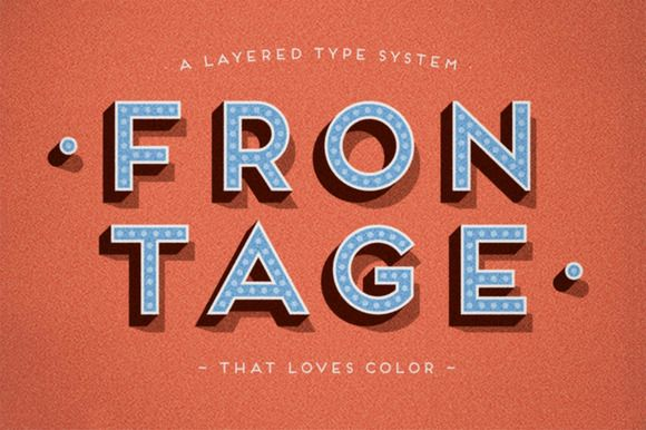 Frontage - Complete Family by Juri Zaech on Creative Market