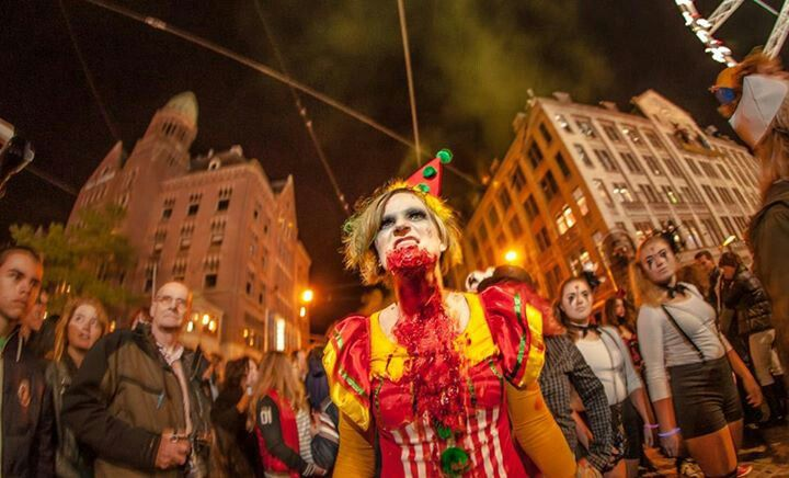 Evil Clown - Zombiewalk 2013