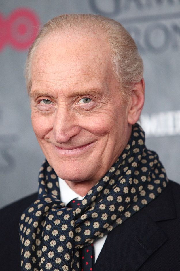 """And Tywin Lannister just being fabulous:   Seeing The """"Game Of Thrones"""" Cast As Normal Humans Is Still Completely Mesmerizing"""