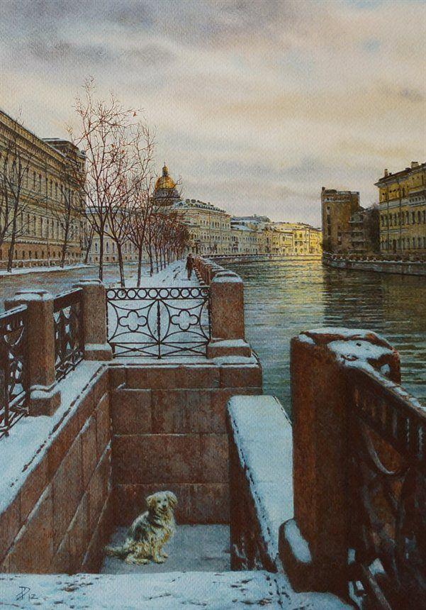 Saint-Petersburg by Dmitry Rodzin