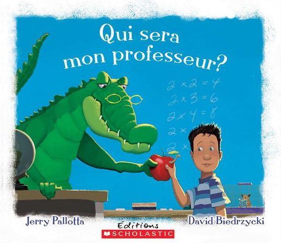 Demain, c'est le premier jour d'école. Qui sera mon professeur ? Un rhinocéros pour la lecture ? Un orignal pour le calcul ? Un jeune élève commence une nouvelle année et imagine qui seront ses futurs enseignants.