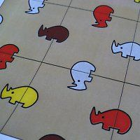 Hlavolam nosorožci