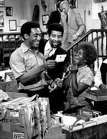 Rupert Crosse (center) with Bill Cosby and Beah Richards on The Bill Cosby Show, 1970. Rupert Crosse (November 29, 1927 – March 5, 1973) was an American television and film actor. Crosse was the first African American to be nominated for a Best Supporting Actor Academy Award for his role in the 1969 adaptation of William Faulkner's The Reivers.