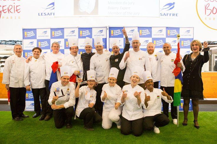 Candidates, coaches & jury members #YBH #lesaffre #2016competition