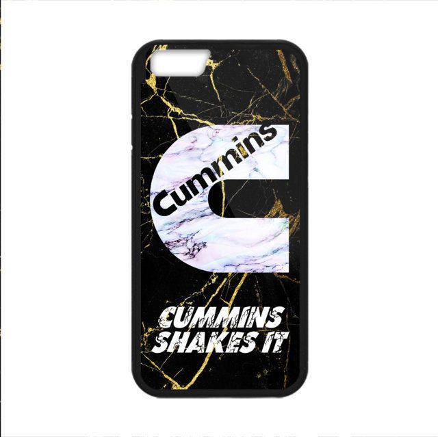 BEST Cummins Logo Gold Marble Print On Hard Plastic CASE COVER For iPhone 6/6s 7 #UnbrandedGeneric