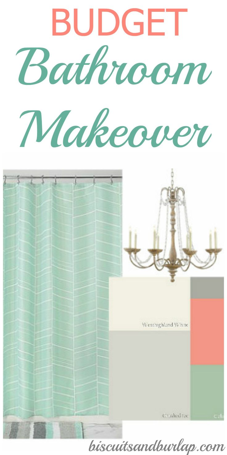 When I say budget bathroom makeover, I really mean budget! Budget Bathroom Remodel. Affordable materials and DIY projects are the focus.