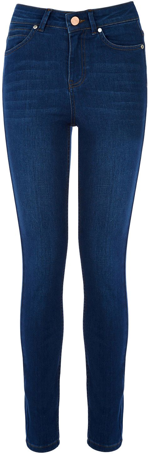 Womens air force blue rinse wash lily from Oasis - £45 at ClothingByColour.com