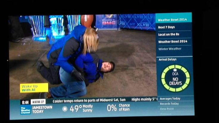 News Videos & more -  Stephanie Abrams knees Mike Bettes in the groin on the Weather Channel #Music #Videos #News Check more at https://rockstarseo.ca/stephanie-abrams-knees-mike-bettes-in-the-groin-on-the-weather-channel/