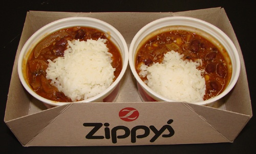 Zippy's chili I just need one bowl of chili and rice and grilled cornbread-or portuguese bean soup!