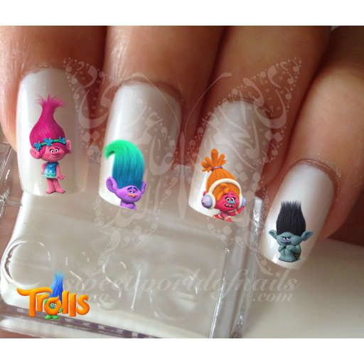 Trolls Movie Nail Art: 17 Best Ideas About Clear Nail Designs On Pinterest