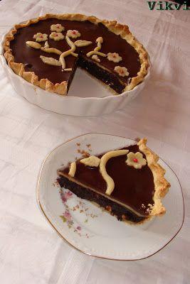 Marcipános brownie pite - No. 44