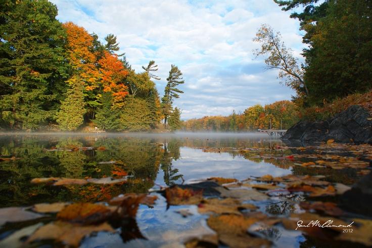 Crowe Lake, Marmora Ontario Canada  Thanksgiving 2012