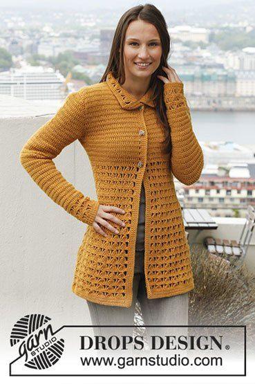 Haakpatroon Vest Met Kantpatroon Best Crochet My Crochet