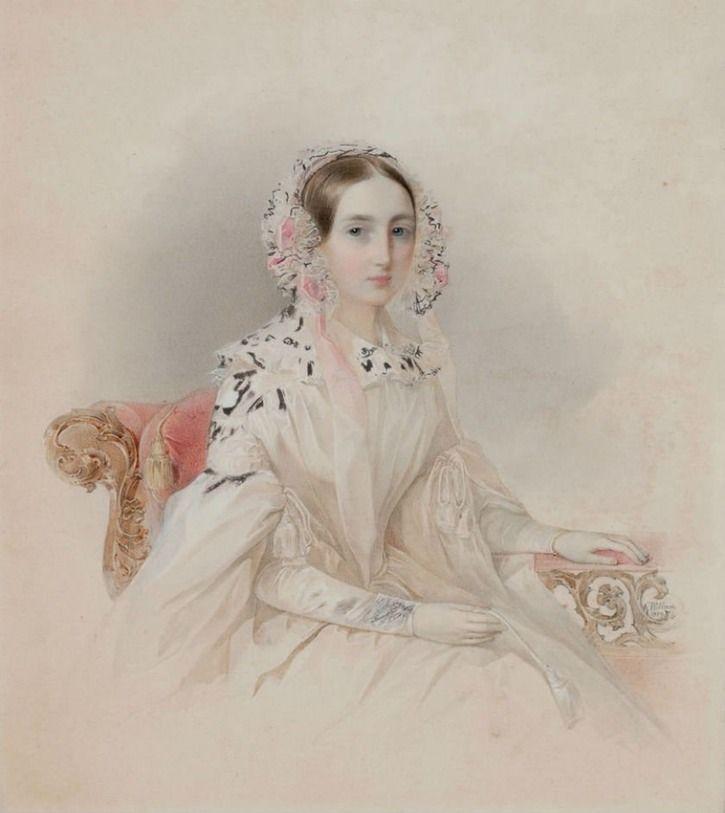 Vladimir Hau - Princess Thérèse d'Oldenburg (1815-1871), 1839