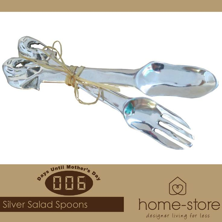Visit us for the most stunning Mother's Day gifts in silverware, such as this salad spoon set, also available at Home-Store as well as a wide range of other goodies. #silverware #musthave #MothersDay