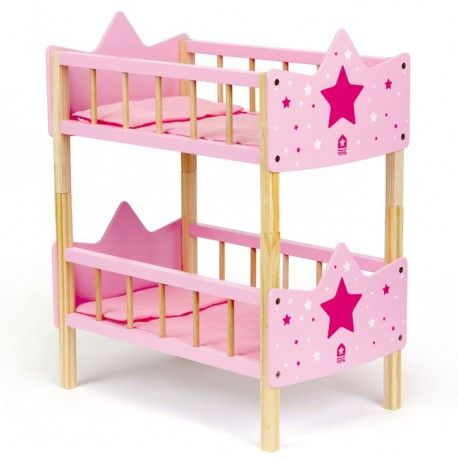 les 25 meilleures id es de la cat gorie lits superpos s de poup e sur pinterest lits de fille. Black Bedroom Furniture Sets. Home Design Ideas