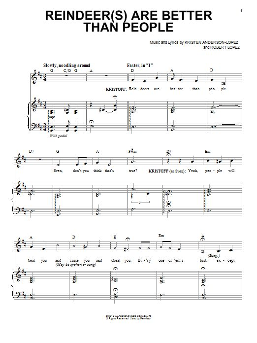 Partition piano reine des neiges