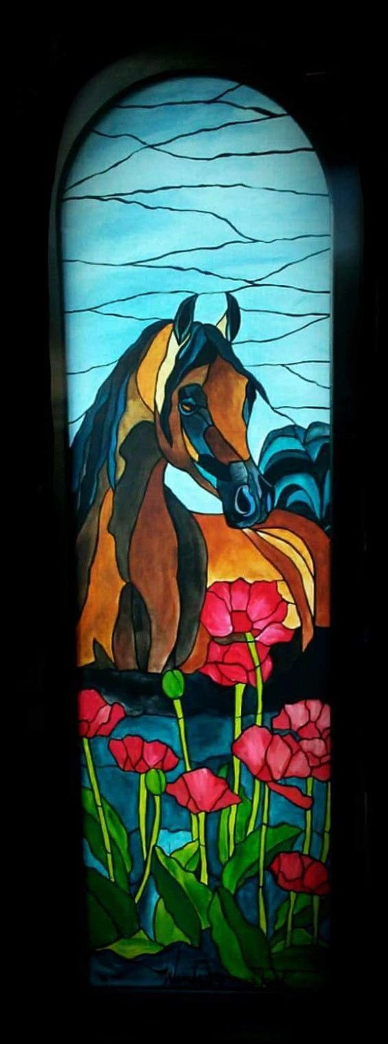 Stained Glass Original Paintings #paintings #art