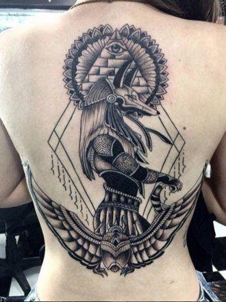 Resultado de imagem para anubis dios egipcio tattoo