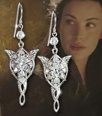 """""""FREE"""" Lord of the Rings  Arwen Evenstar Earrings - JUST PAY SHIPPING !!!"""