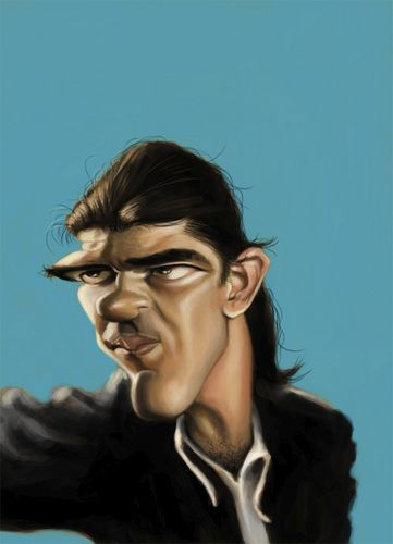 Antonio Banderas  (By doodleart)