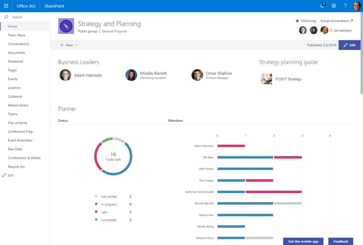 Use SharePoint web parts to showcase data from inside and outside Office 365  ||  Increase the impact of your communications by including live, up-to-date information and content from inside and outside of Office 365 throughout your intranet – on your sites, on your pages and within your news articles.   We're pleased to announce that many of the web…