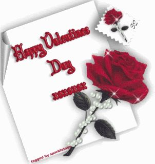happy valentines day photo: HappyValentinesDayRosesSparkle HappyValentinesDayRosesSparkle.gif