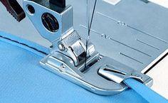 Faire un ourlet roulé à la machine - Site de couture pour débutant(e) !
