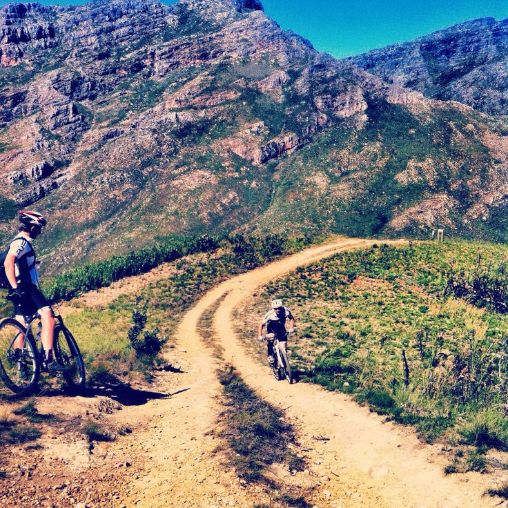 Jonkershoek riding with the product team.