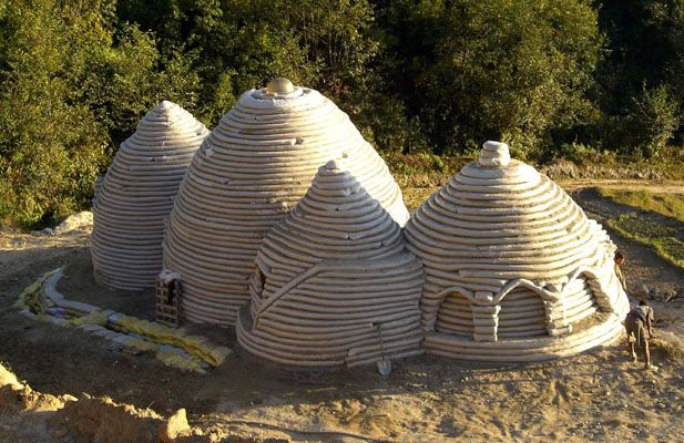 Nader Khalili merges my love of creating space that is liveable and designing and building kilns