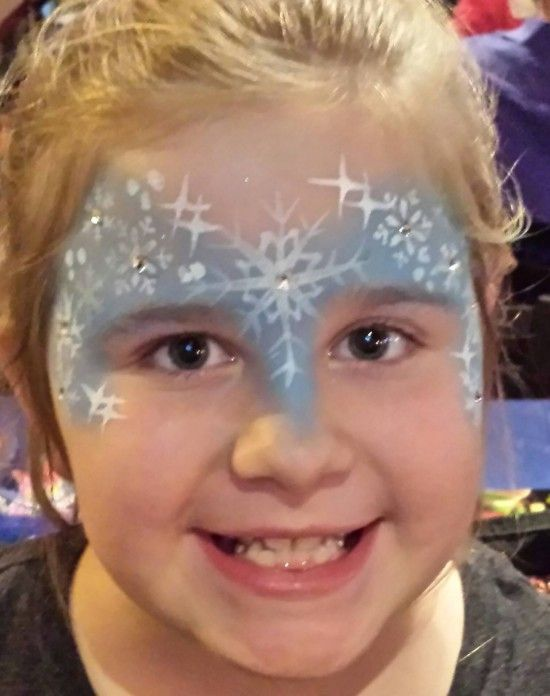 face painting templates for frozen themed - Google Search
