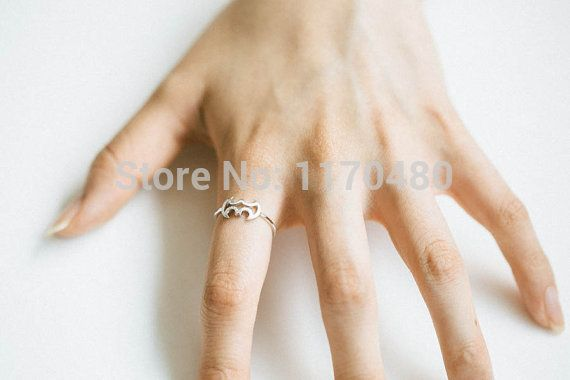 1 Piece-R128 New Fashion wholesale Line batman ring,animal ring,cute ring,Jewelry Ring for women -Free shipping