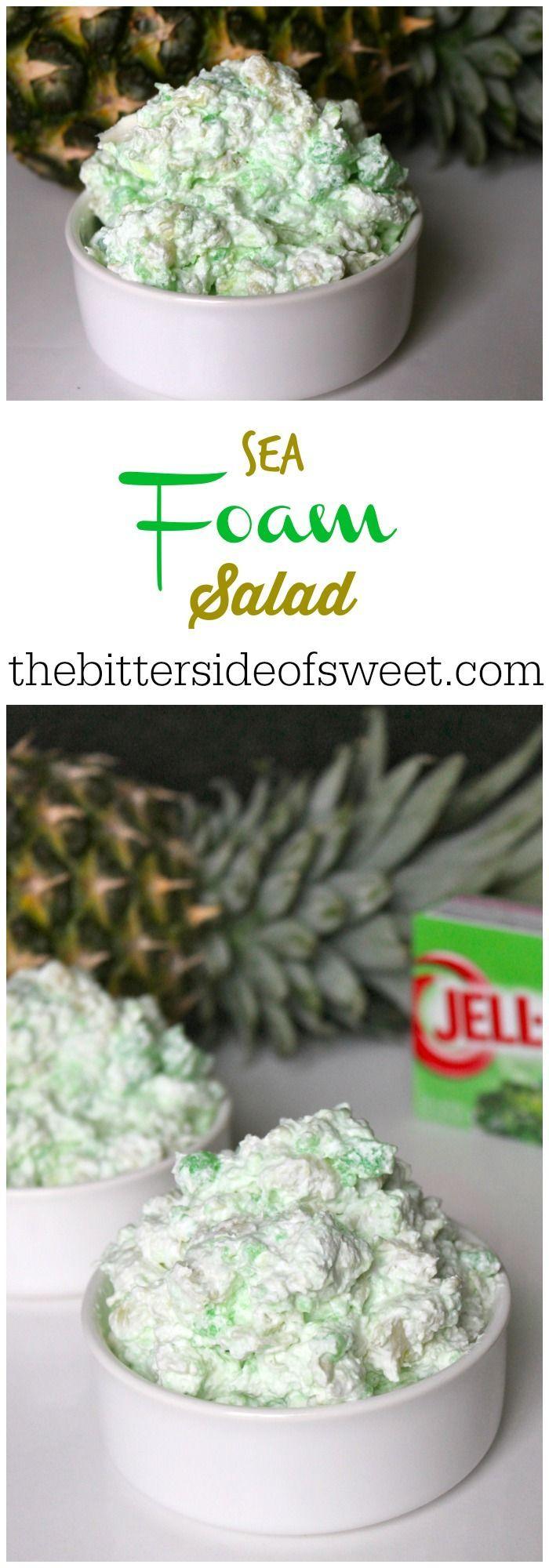 Sea Foam Salad | The Bitter Side of Sweet