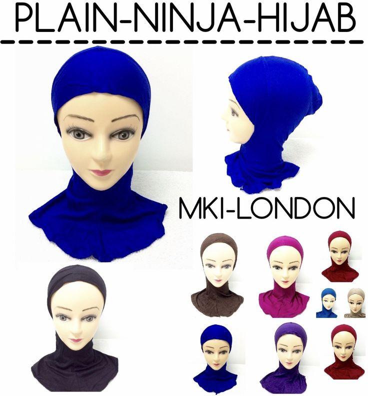 5.43$  Watch now - http://viqwm.justgood.pw/vig/item.php?t=0ene4i18383 - MUSLIM LADIES GIRLS READYMADE HIJAB SCARF NINJA PLAIN COLOURS HEADWRAP