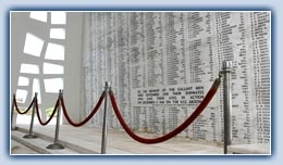 Arizona Memorial, Pearl Harbor. Visited this in 2003, and it was still leaking diesel fuel and oil, crying for those who died that day :(