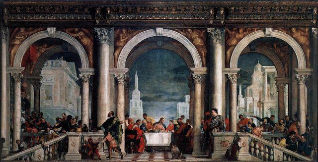 Γιορτή στο σπίτι του Λευί (1573)