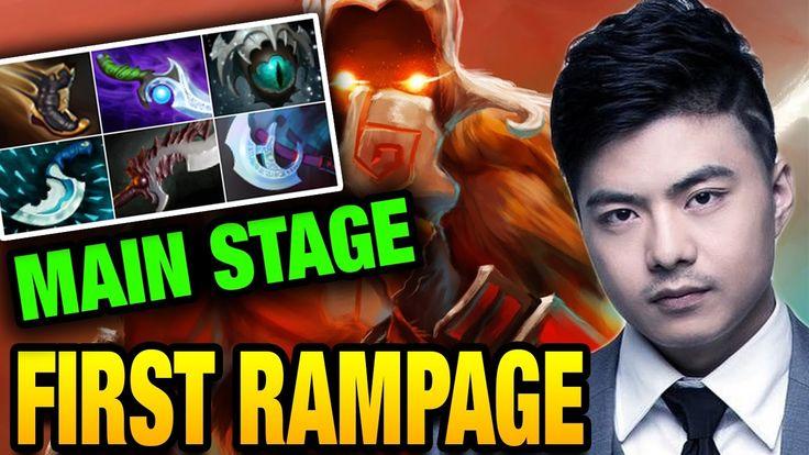 BurNing First Main Stage RAMPAGE KIev Major [IG vs MouseSports] Dota 2 7.05