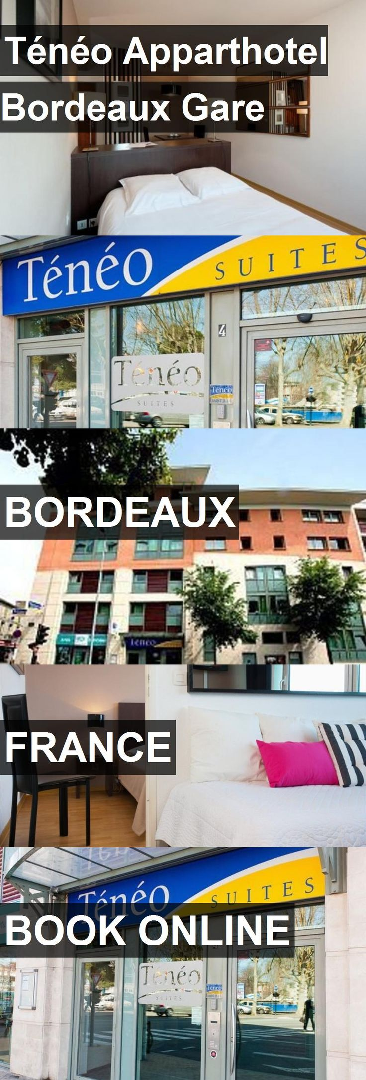 Ténéo Apparthotel Bordeaux Gare in Bordeaux, France. For more information, photos, reviews and best prices please follow the link. #France #Bordeaux #travel #vacation #hotel