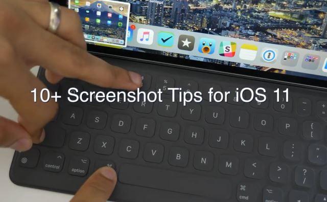 iOS 11 Beta: Neues Screenshot-Feature im Detail erklärt (Video) - https://apfeleimer.de/2017/06/ios-11-beta-neues-screenshot-feature-im-detail-erklaert-video - Mit iOS 11 erwarten uns eine ganze Reihe sinnvoller Neuerungen in Apples mobilem Betriebssystem. Insbesondere das Screenshot-Feature hat Apple deutlich überarbeitet. Statt wie bisher ausschließlich auf eine Funktion via Aktivierung über Homebutton und Powerbutton zu setzen, erweitert Apple das...