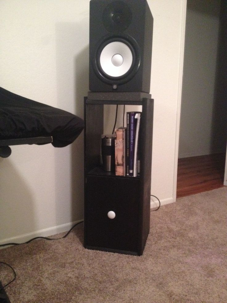 Monitor speaker stands
