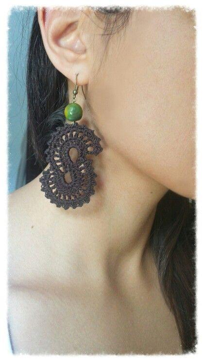 Crochet earrings summer edition diy