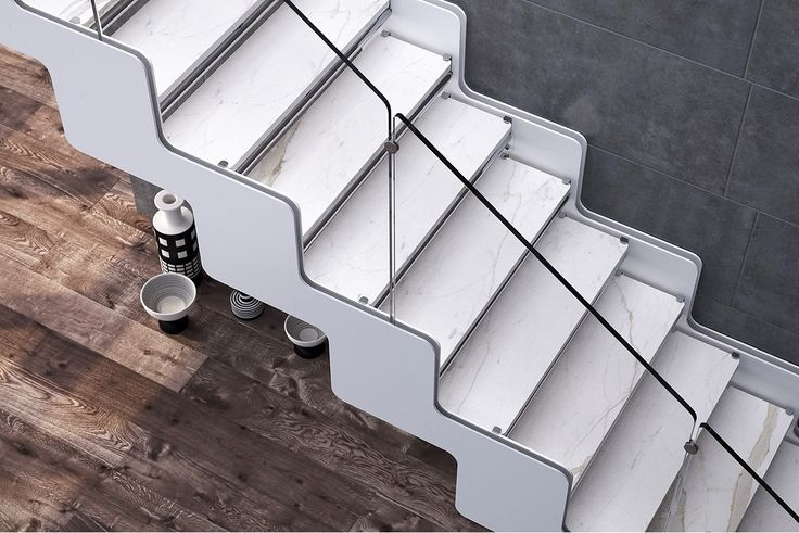 Joy with calacatta steps. Finishings are on request.