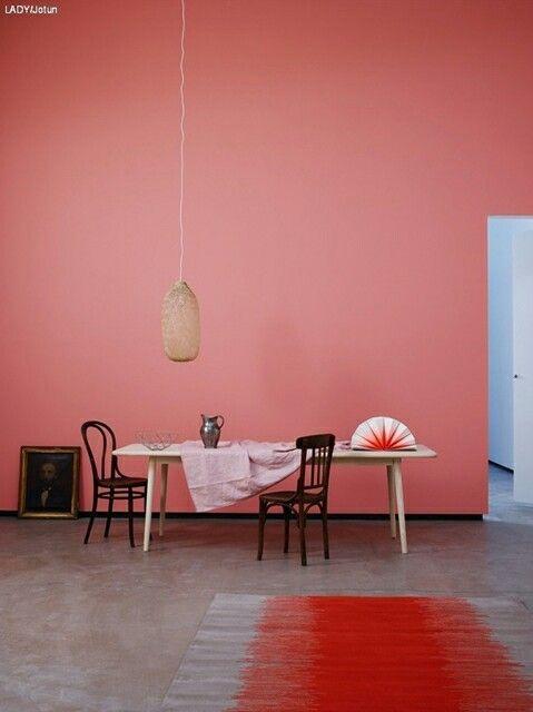 colore deciso per la casa
