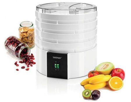 Zelmer FD1000 520W biała - Suszarka do grzybów i owoców - Satysfakcja.pl - niezbędna w kuchni