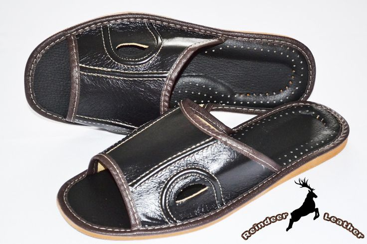 Black Eyed Soft Leather Slip On